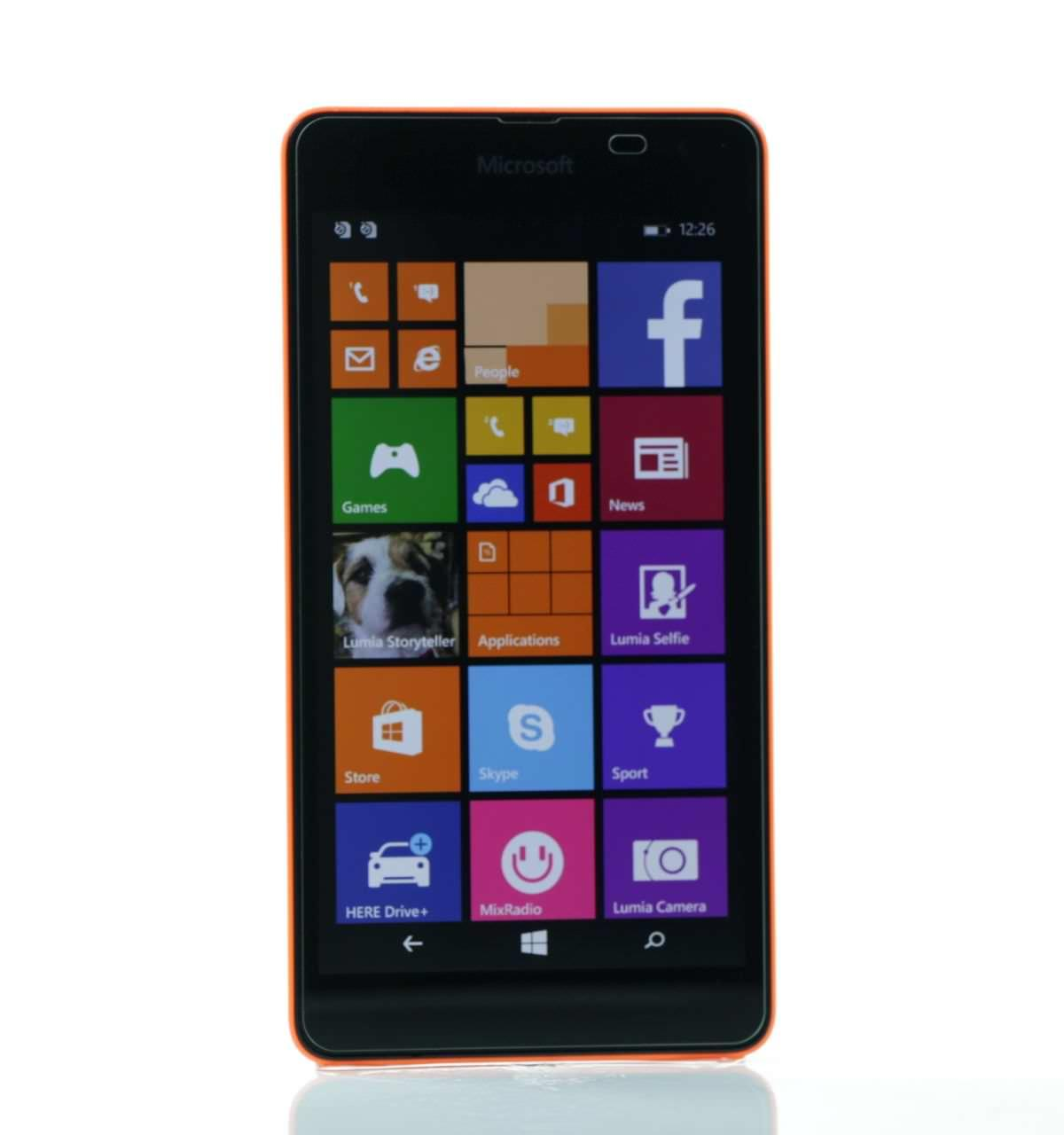 Lumia 535 Dual SIM Degree View